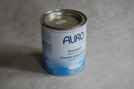 Grondverf wit aqua auro 253  0,75 ltr blik