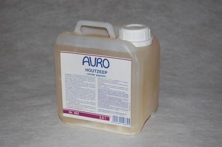 Auro 403 Houtzeep blank  2 ltr can