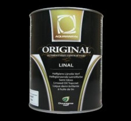 Original Linal L.Verf  pot  5 ltr alleen in wit