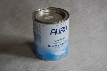 Grondverf wit aqua auro 253  0,375 ltr