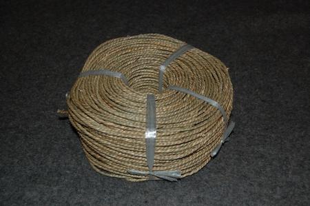 Zeegras getwist en getwijnt 3,0 - 4,0 mm  rol van 1 kg  per stuk
