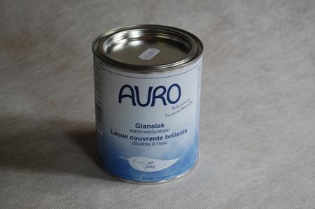 Glanslak Lichte kleur auro 250 aqua  0,375 ltr