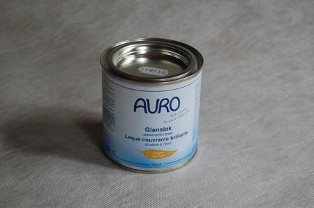 Glanslak Auro 250 aqua Standaard kleuren en Wit