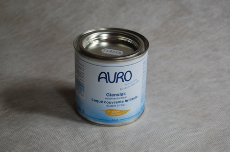 Glanslak Auro 260 aqua Standaard kleuren en Wit  0,375 ltr