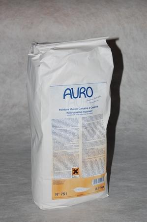 Kalk-Caseïne Muurverf poedervorm  3 kg auro 751  per stuk