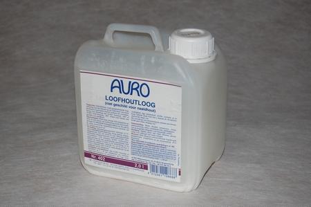 Auro 402 Loofhoutloog  2 ltr can