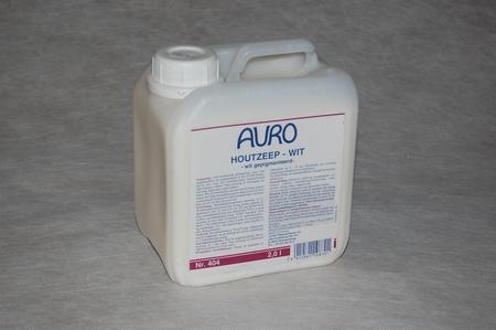Auro 404 Houtzeep wit  2 ltr can