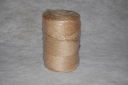 Jute garen naturel getwist en getwijnt 1000 gram.   950/7  per stuk