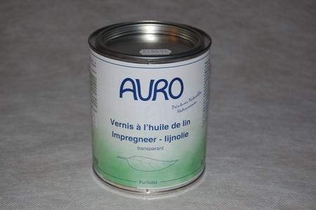 Impregneer-Lijnolie auro 143  0,75 ltr