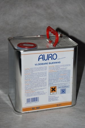 Vloeibare Bijenwas Auro 981  2,5 liter