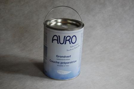 Grondverf wit aqua auro 253  2,5 liter