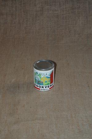 Kookverf. Niet meer nabestelbaar in 1 ltr blik.  1 liter