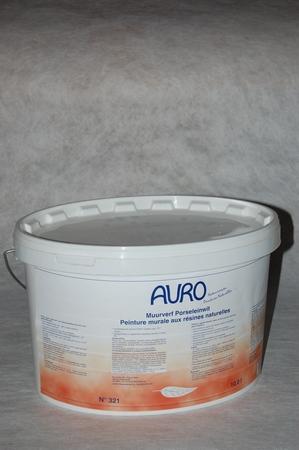Muurverf Auro 321 Porseleinwit  10 liter emmer