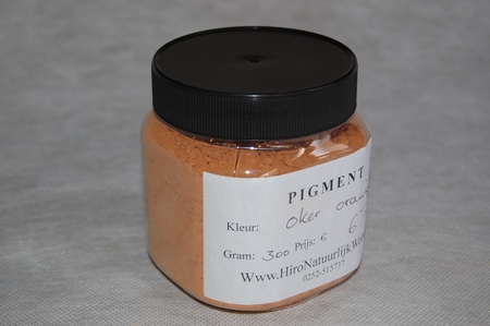 Oker - Oranje  300 gram zakje