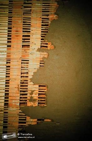 Rietrol 70 stengel per m1; hoog 200cm rol 10m²  per stuk