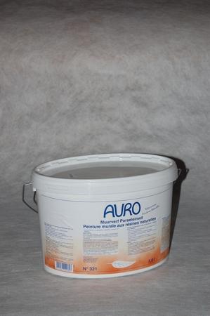 Muurverf Auro 321 Porseleinwit  1 liter