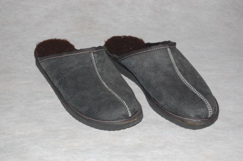 Instap-Pantoffel lamsvacht maat 43-46