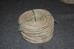 Zeegras gedraaid 4,0 - 5,0 mm  rol van 1 kg per stuk