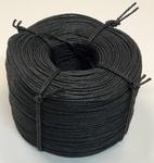 Papercord  Zwart Fijn ± 3 mm  ± 625 m1 - 5 kg bos