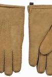 Schapenvacht heren handschoenen kleur Camel
