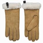 Schapenvacht dames handschoenen kleur Camel