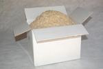 Toeslagstof droge fijne stro tot 15 mm in doos van 1,5 kg per stuk